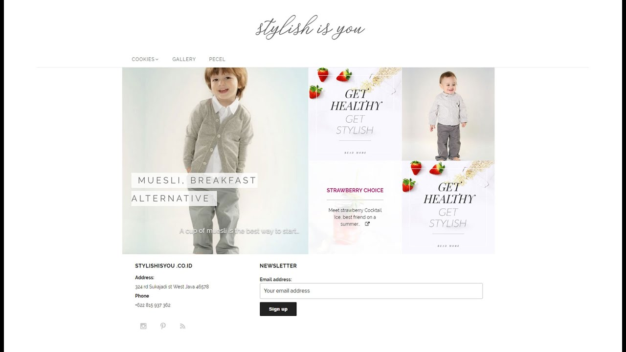 Free Feminine WordPress Themes 2019 Stylish is You and How to Make a Website Tutorial