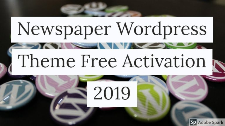 Newspaper | v9.5 | WordPress Theme | Free Activation | 2019