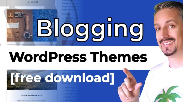 10+ Best WordPress Themes For Blogs [FREE]