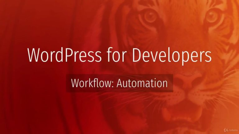 WordPress Development (Workflow and Automation) || Part 1 2k18
