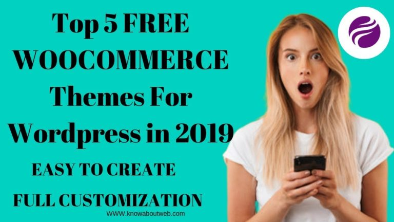 Top 5 FREE WOOCOMMERCE WordPress Themes In 2019