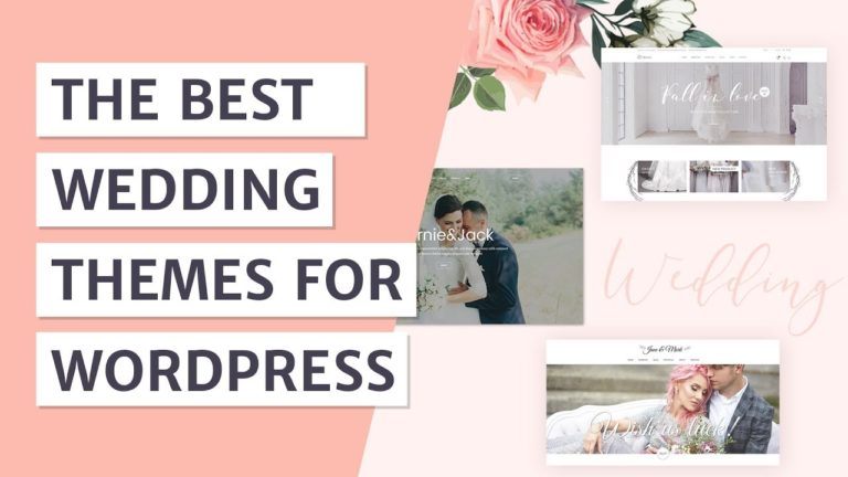 Best Wedding WordPress Themes [2019]