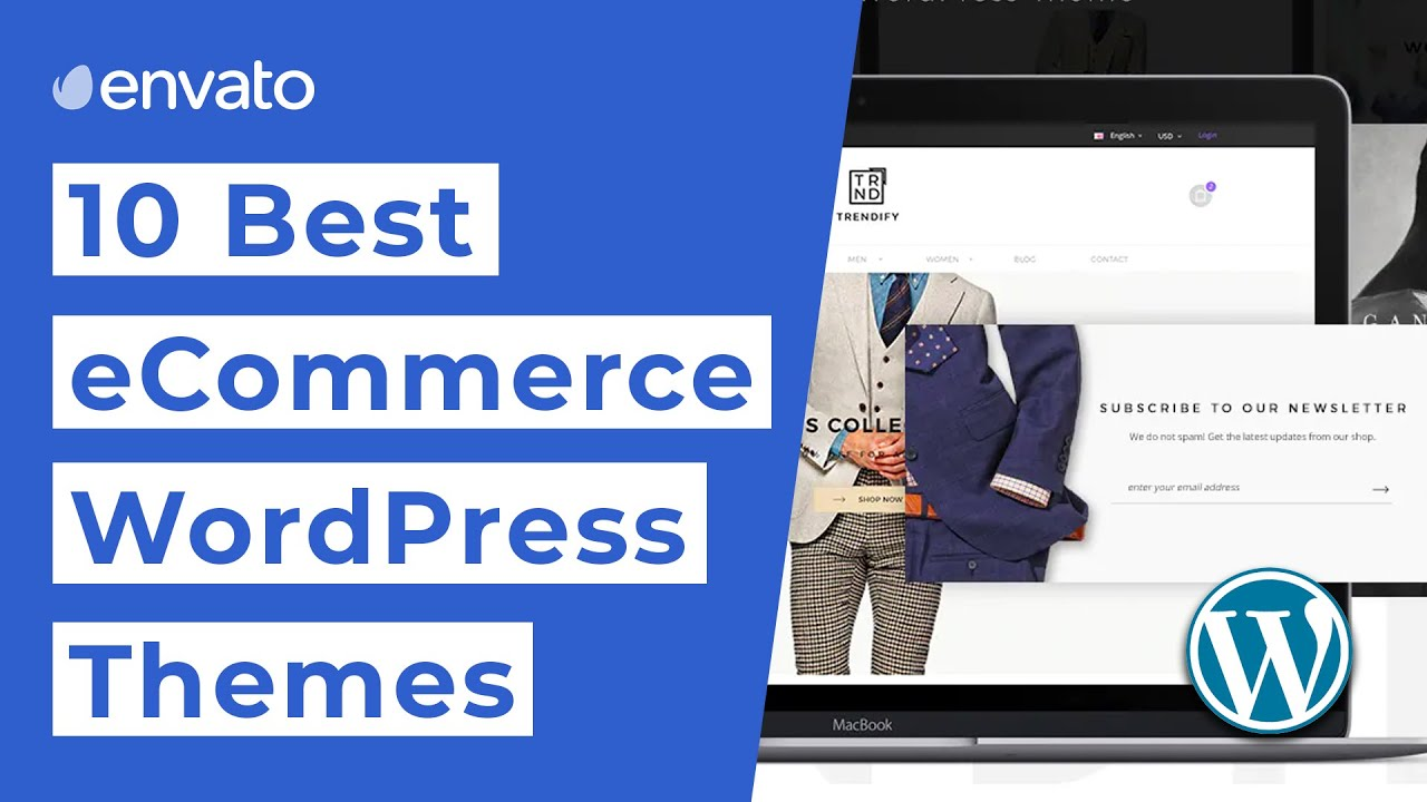 10 Best eCommerce WordPress Themes [2019]