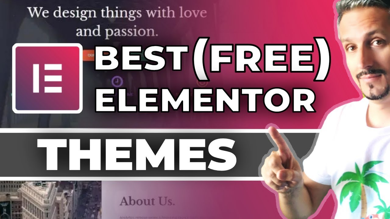 Best Themes For Elementor 2019 (FREE To Use)