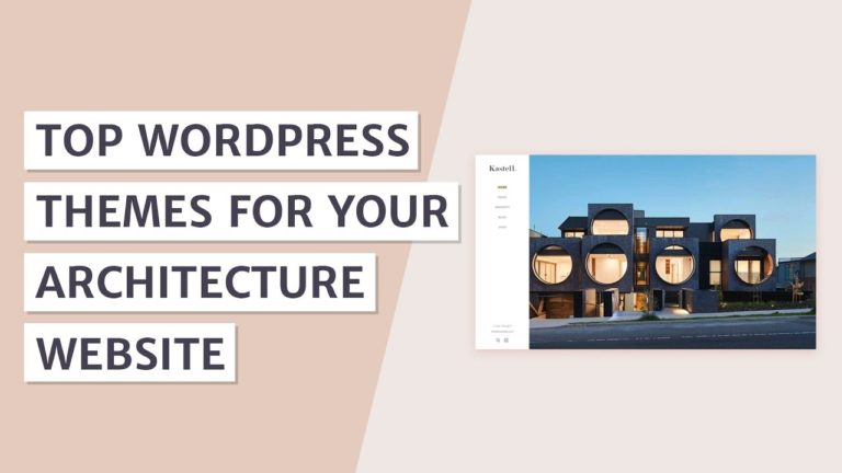 Best Architecture WordPress Themes [2019]