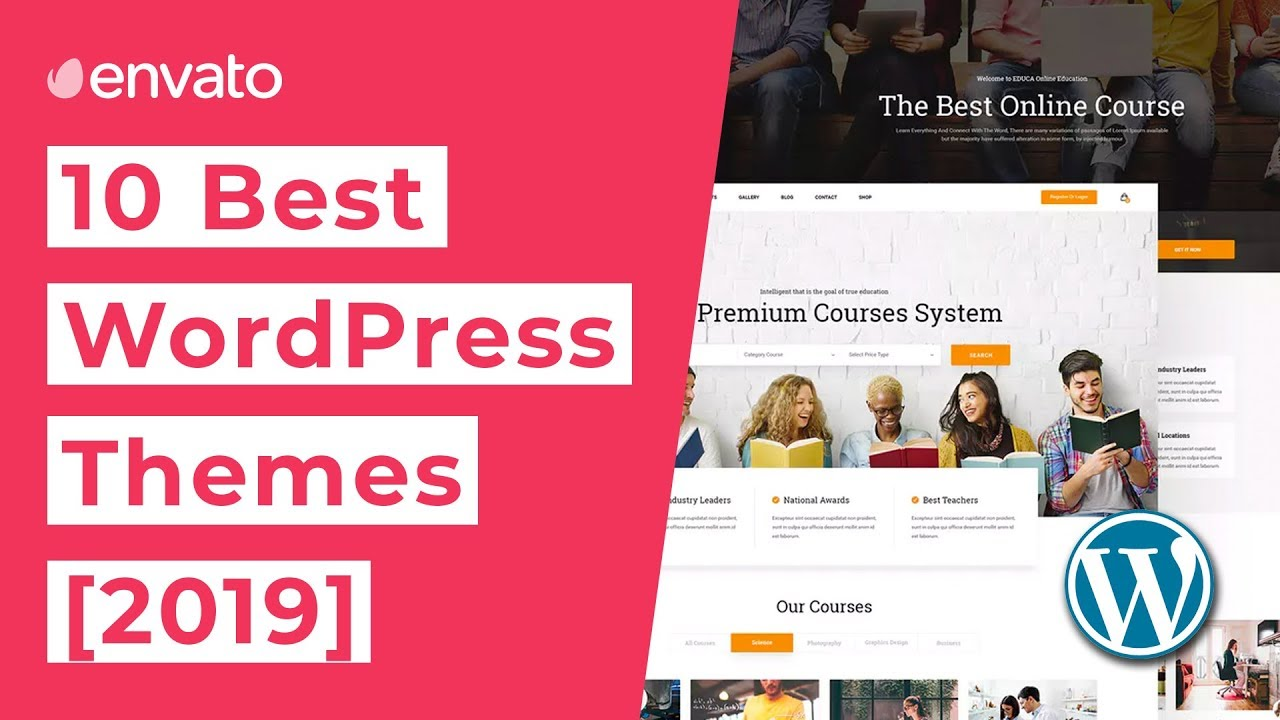 10 Best WordPress Themes [2019]