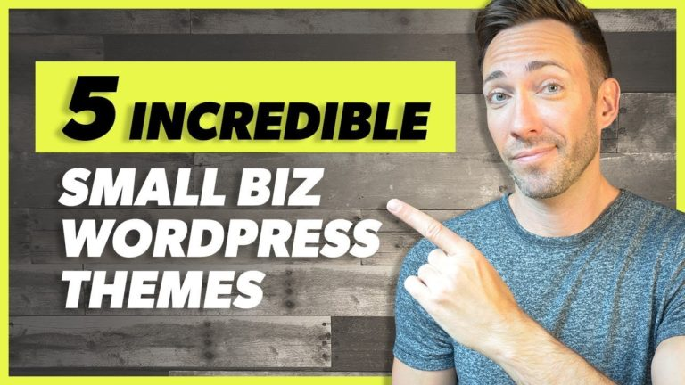 Best WordPress Themes For Small Business: 2019 Edition