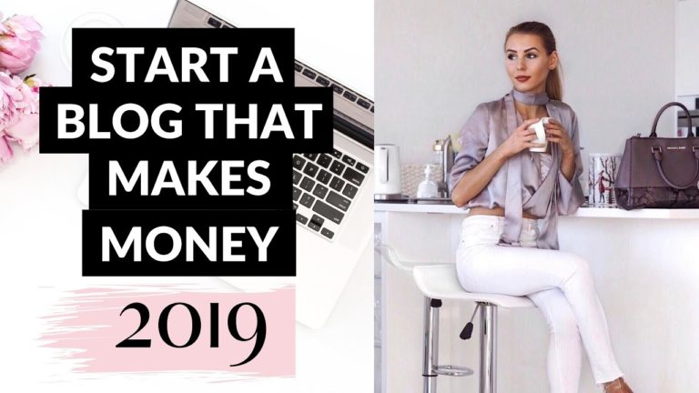 How To Start A Blog That Makes MONEY With NO Experience: Step By Step Tutorial For Beginners 2019
