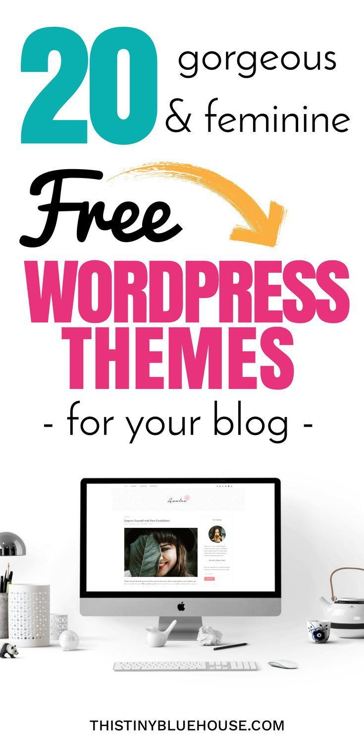 20 gorgeous and free wordpress themes