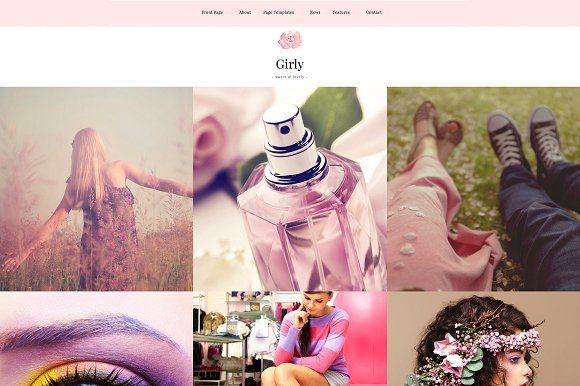 Girly is a premium WordPress theme that is simple to use, but at the same time v…